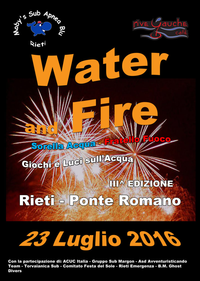 Water and fire 2016end